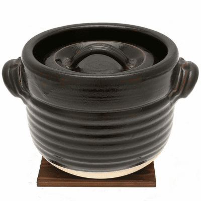 Tohen Tenmoku Browon Rice <br>Pot/Do-Gama 3 gou