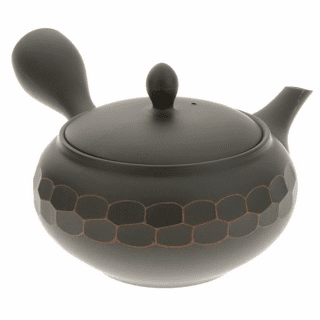 Tokoname Double Vacet Cut Tea Pot