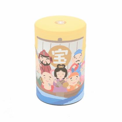 Treasure Ship Tea Canister,  <br>Holds 100 Grams