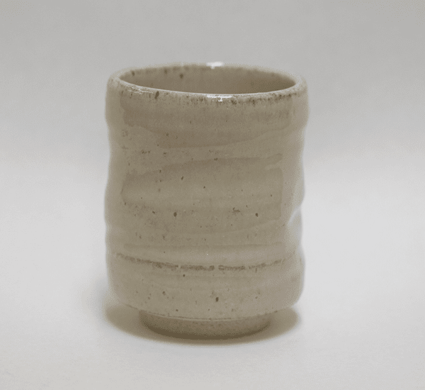 Triangular White Hagi Sushi Cup, 10 oz.