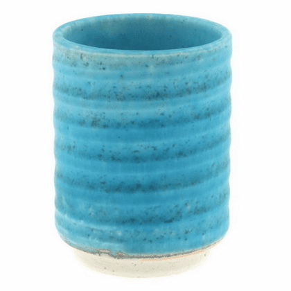 Turquoise Ceramic Tea Cup 12 oz.