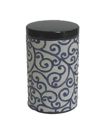 Twynning Vines Tea Canister,  <br>Holds 100 Grams