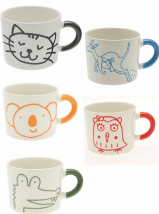Variety Design of Mugs