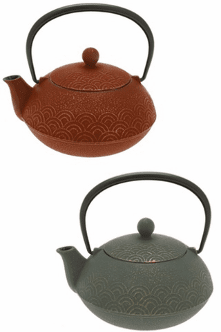 Waves Cast Iron Teapot Series