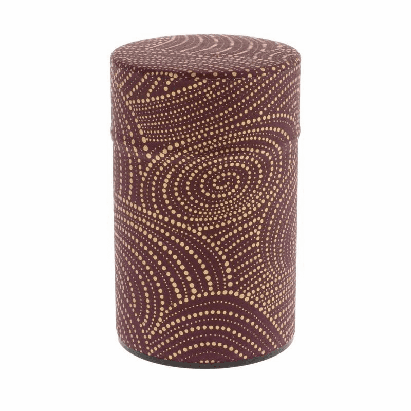 Wazome Purple & Gold Swirl Holds 150 Grams