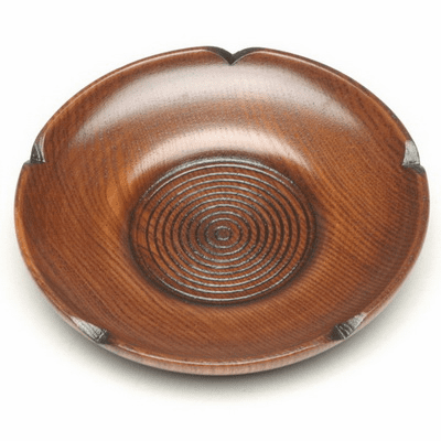 Wood Plum Tea Cup Coaster