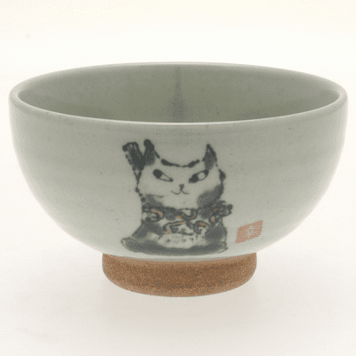 Yukko Cat Rice Bowl