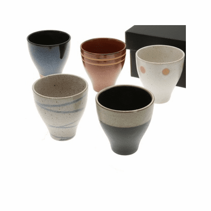 Zen Tea Cups for Five 7 oz.