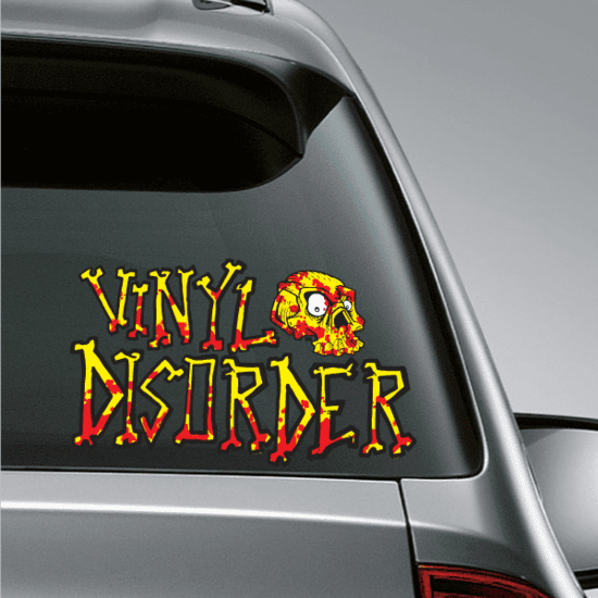 Custom Printed Die Cut Decal