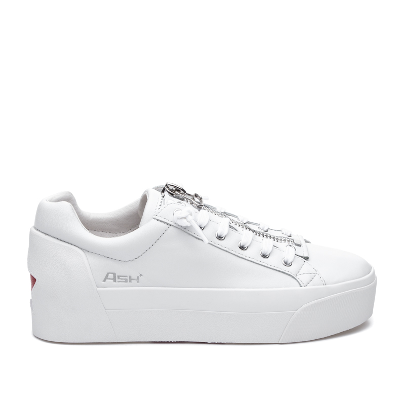 ASH Buzz White/Red Sneaker
