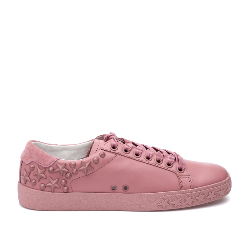ASH Dazed Ash Rose Leather Sneaker