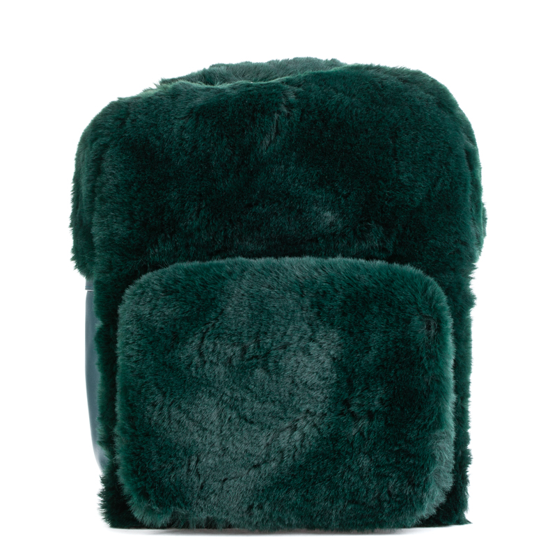 ASH Rehab Fur Backpack Teal/Silver