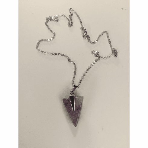 Amethyst Arrow Chain necklace