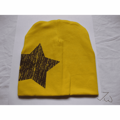 Children Cotton Hat - Yellow