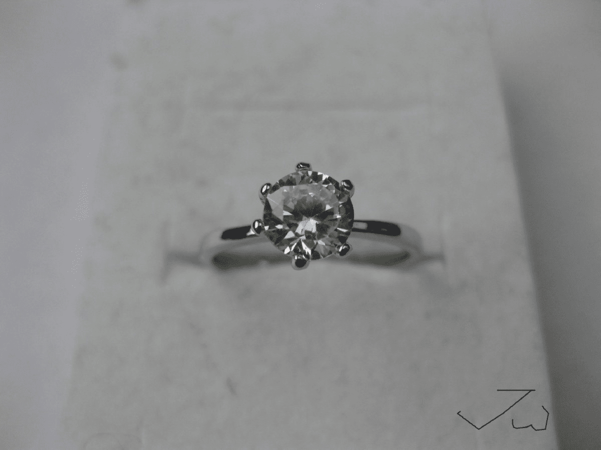 Clear CZ Ring