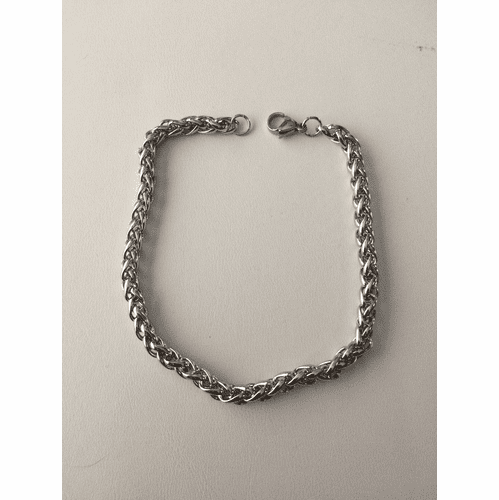 Double Chains Stainless Steel Bracelet