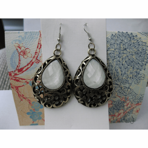 Drop Vintage Bronze Stainless Steel Earrings