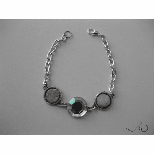 Gems Chain Bracelet with CZ