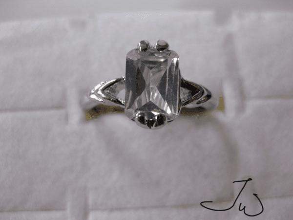 High Quality CZ Ring - Clear6