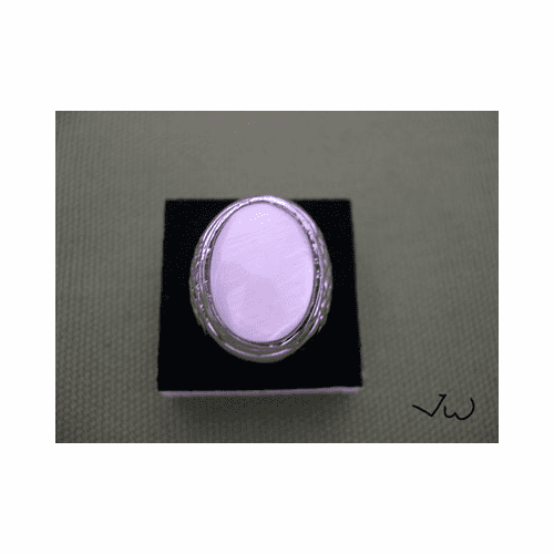 High Quality Shell 18KT White Gold Plated Ring - 95