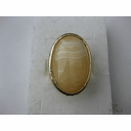 Lamp Glass Vintage Ring