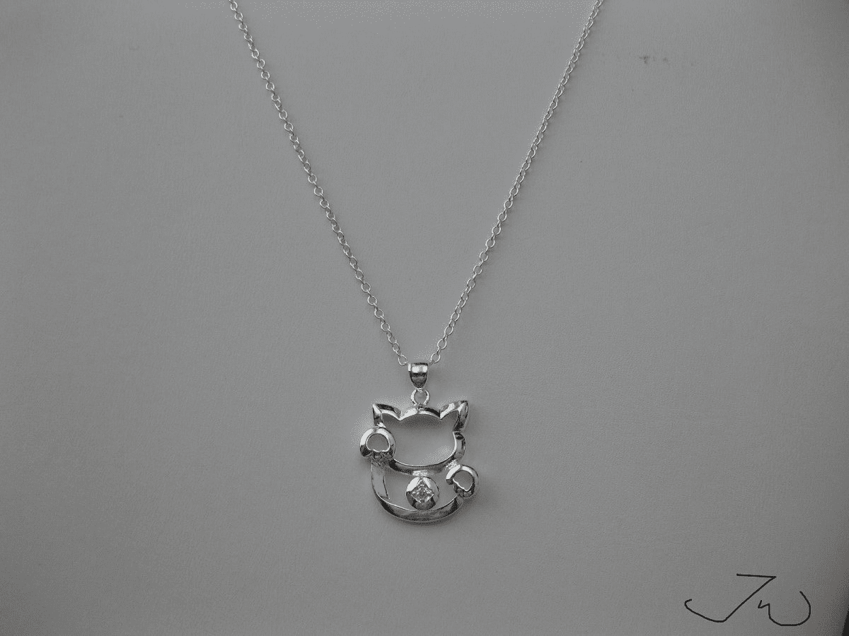 Lucky Cat Chain Necklace