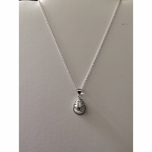 Moon Stone S925 Chain Necklace