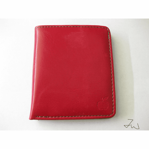 PU Leather Wallet - Apple