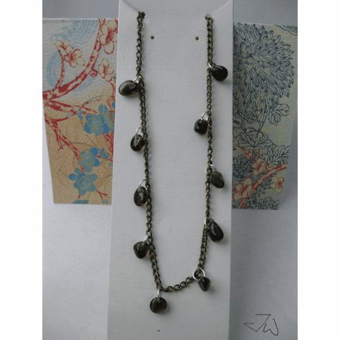 Smoky Quartz Chain Necklace