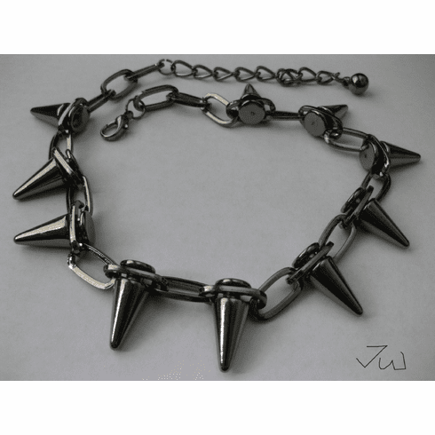 Spike Choker Chain Necklace