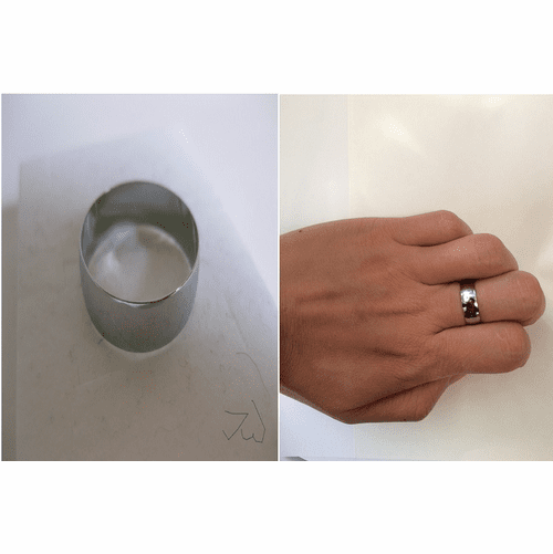 Stainless Steel Ring - 1298