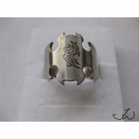 Stainless Steel Ring - Flame