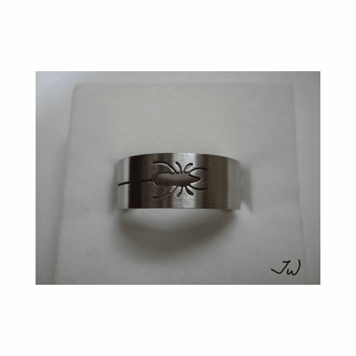 Stainless Steel Ring - Spider