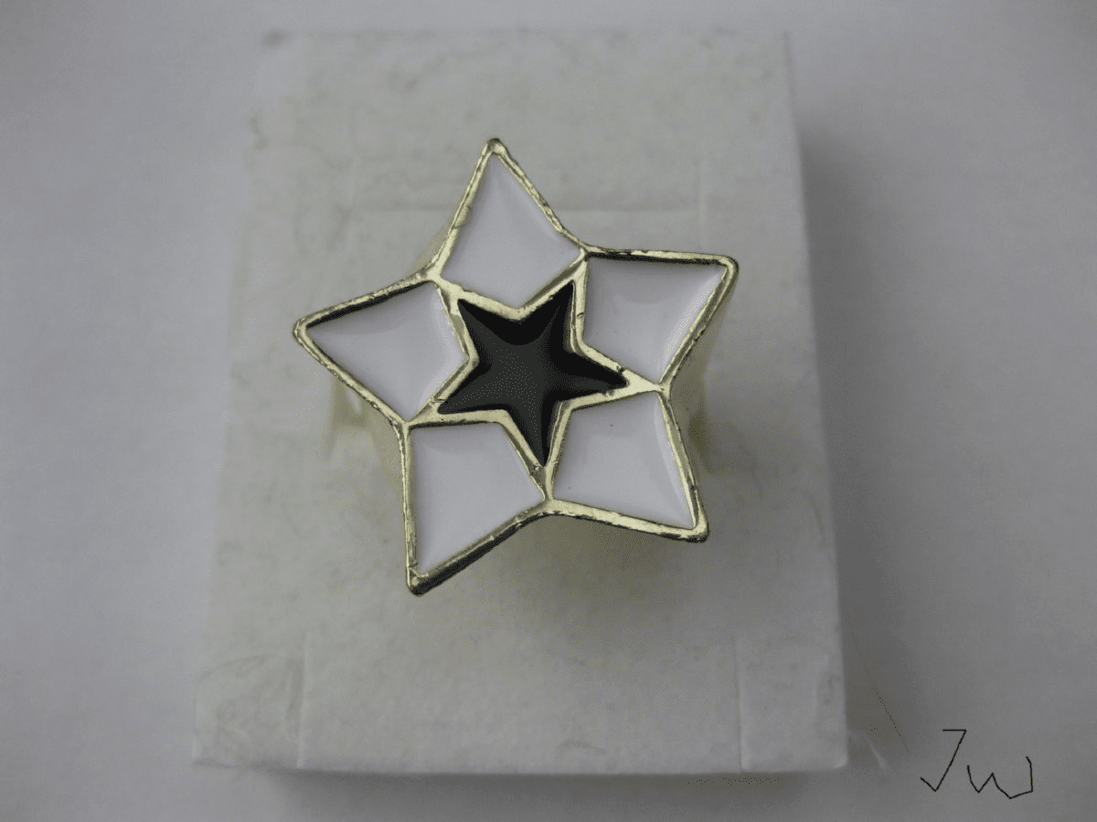 Star Stainless Steel Ring