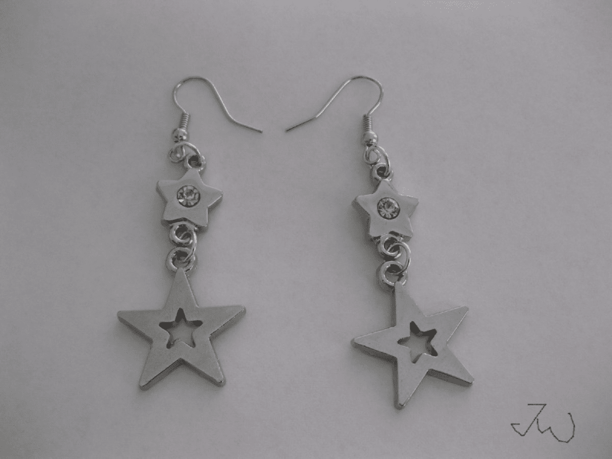 Stars Stainless Steel Earrings