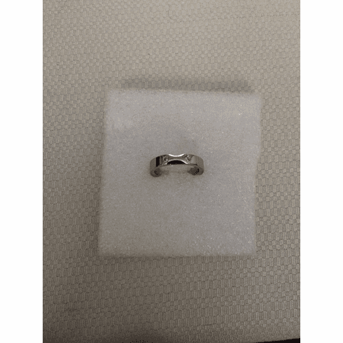 Two czs stainless steel ring