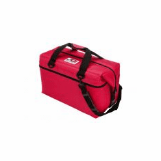 36 Pack Canvas Cooler (Red)