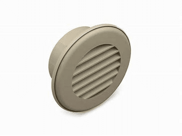 Thermovent Ducted Heat Vent with Damper (brown)