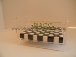 Acrylic Dinner Napkin Holder with Bar