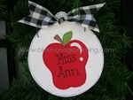 Apple Ball<br>Christmas Ornament<br>SOLD OUT!