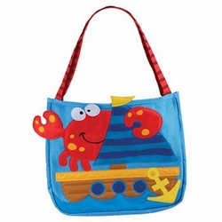 Beach Tote with Tools<br>Crab