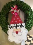 Santa<br>Door Plaque