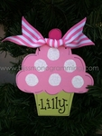 Cupcake Girl<br>Christmas Ornament