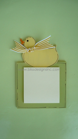 Duck<br>Sticky-Note Holder