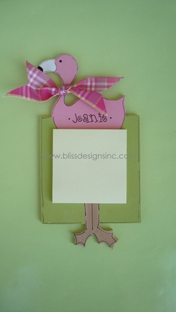Flamingo<br>Sticky-Note Holder
