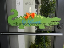 Gator Door Plaque