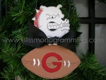 Georgia Bulldog<br>Christmas Ornament<br>SOLD OUT