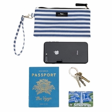 Kate Wristlet<br>Stripe Right