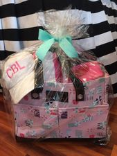 Ladies Beach Bag Gift Basket<br>SOLD