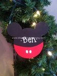 Mouse Ears Boy<br>Christmas Ornament<br>SOLD OUT